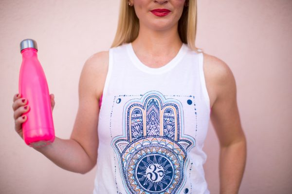 Spiritual Gangster Dreamer Hamsa Muscle Tank, Blue Ray-ban Aviator Sunglasses, Laura Mercier Poppy Lip Glace