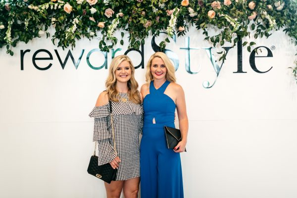 Cristin Cooper of the southern style guide, kate brennan of the chic series, what to wear to a cocktail party, friends going to a cocktail party