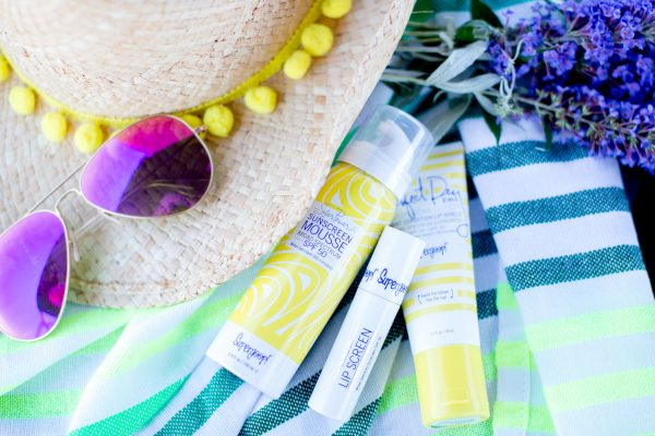 Supergoop Sunscreen, Clean sunscreen, beach style