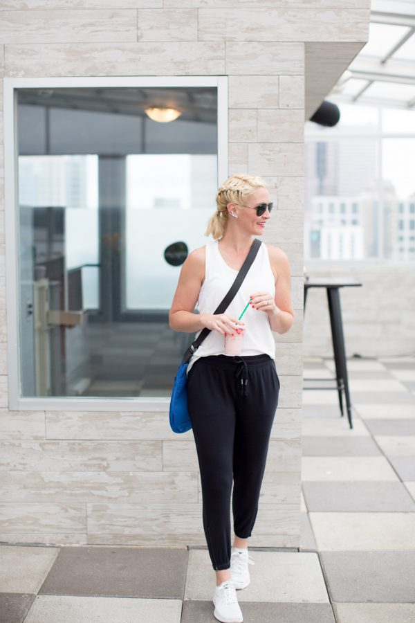 Kate Brennan wearing Lolë: The perfect brand for active women looking for athleisure outfits