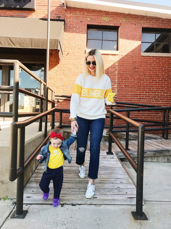 Bumble social networking for moms