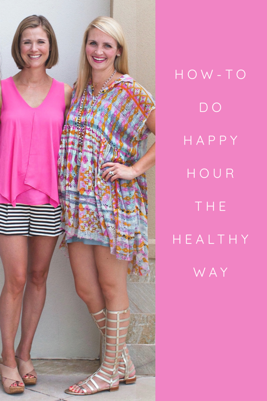 How To Create A Healthy Happy Hour For Moms